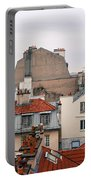 French Rooftops  Portable Battery Charger