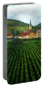 French Village In The Vineyards Portable Battery Charger
