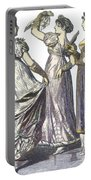 French Womens Fashion, 1808-09 Portable Battery Charger