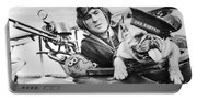 French World War Two Postcard Celebrating The British Bulldog As A Mascot For The Royal Air Force Portable Battery Charger