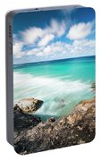 Frenchmans Beach On Stradbroke Island, Queensland. Portable Battery Charger