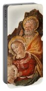 Fresco Holy Family Portable Battery Charger