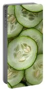 Fresh Cucumbers Portable Battery Charger