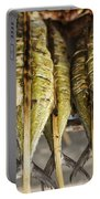 Fresh Grilled Asian Fish In Kep Market Cambodia Portable Battery Charger