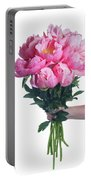 Peony Gift Portable Battery Charger