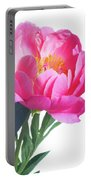 Japanese Peony Portable Battery Charger