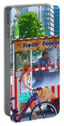 Fresh Popcorn Portable Battery Charger