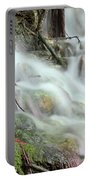 Fresh Spring Water Nature Detail Portable Battery Charger