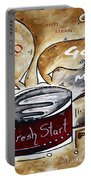 Fresh Start Original Painting Madart Portable Battery Charger