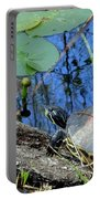 Freshwater Turtle Sunning Portable Battery Charger
