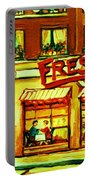 Fressers Takeout Deli Portable Battery Charger