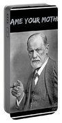 Freud Says Blame Your Mother  Portable Battery Charger