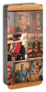 Frida Kahlo Display Picts Portable Battery Charger