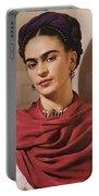 Frida Kahlo Live Portable Battery Charger