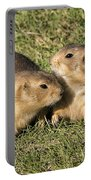 Friendly Prairie Dogs Portable Battery Charger
