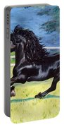 Friesian, Run Like The Wind Portable Battery Charger
