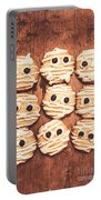 Frightened Mummy Baked Biscuits Portable Battery Charger