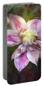 Frilled Clematis 1201 Idp_2 Portable Battery Charger