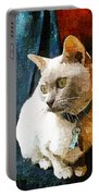 Fritz The Cat Portable Battery Charger