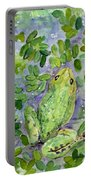 Frog In The Pond Portable Battery Charger