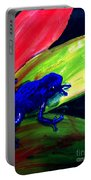 Frog On Leaf Portable Battery Charger