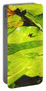 Frog On Lily Pad Portable Battery Charger