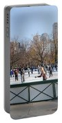 Frog Pond Skating Rink Boston Common Portable Battery Charger