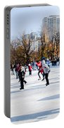 Frog Pond Skating Rink Boston Portable Battery Charger