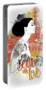 From Berlin With Love Portable Battery Charger