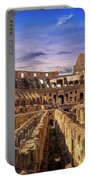 From The Floor Of The Colosseum Portable Battery Charger