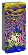 Fronds And Bladders In Lavendar Portable Battery Charger
