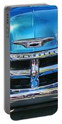 Front End Blue And Chrome Chevy Pick Up Portable Battery Charger