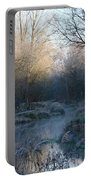 Frosted Riverbank Portable Battery Charger