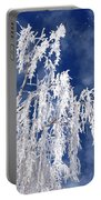 Frosted Weeping Willow Portable Battery Charger