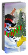Frosty And Friends Portable Battery Charger