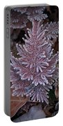 Frosty Fern Christmas Portable Battery Charger