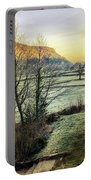 Frosty Morning Light Portable Battery Charger