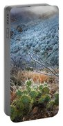 Frosty Prickly Pear Portable Battery Charger