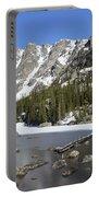 Frozen Colorado Lake Portable Battery Charger