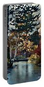 Frozen Creek II Painting Portable Battery Charger