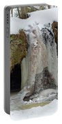Frozen Fall Portable Battery Charger