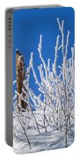 Frozen Fence Post Portable Battery Charger