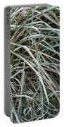 Frozen Grass - Ground Frost Portable Battery Charger