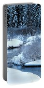 Frozen In Time Portable Battery Charger