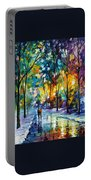 Frozen Night Portable Battery Charger