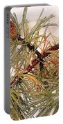 Frozen Pine Portable Battery Charger