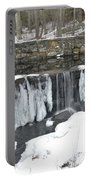 Frozen Waterfall Portable Battery Charger