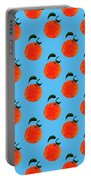 Fruit 01_orange_pattern Portable Battery Charger