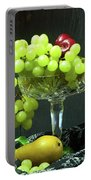 Fruit And Crystal. Portable Battery Charger