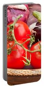 Fruit And Vegetables Portable Battery Charger
